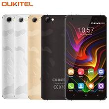 Original OUKITEL C5 Pro Cell Phone 5.0 inch RAM 2GB ROM 16GB MTK6737 Quad Core 1.3GHz Android 6.0 4G Dual SIM OTA Smartphone