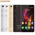 Original oukitel c5 teléfono celular pro 5.0 pulgadas ram 2 gb rom 16 GB MTK6737 Quad Core 1.3 GHz del Androide 6.0 4G Dual SIM OTA Smartphone