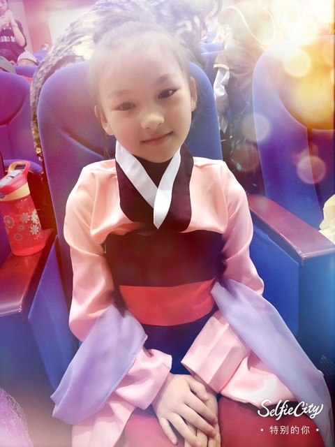 Hua Mulan Dress Blue Dress Princess Dress Movie Cosplay Costume Custom Made 2
