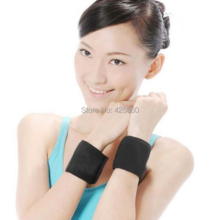 Tourmaline Self Heating Magnetic Therapy Neck Pad & Wrist Support & Tourmaline Heating Shoulder Massage Free Shipping