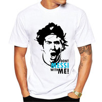 Argentina Messi Tee Shirts Short T Shirts Style Summer Star Players Maradona Messi Cheer Tshirts Men