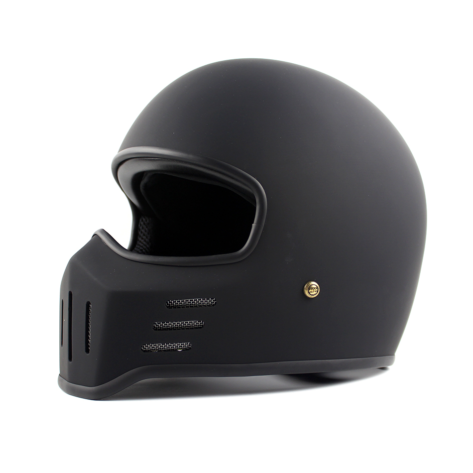 TT CO Thompson Brand Motorcycle Helmet TT01 Spirit Rider Motocross Full Face Helmets Compact and lightweight Vintage Moto Helmet in Helmets from Automobiles Motorcycles