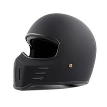 Мотоциклетный шлем TT CO Thompson TT01 Spirit Rider, компактные и легкие винтажные шлемы для мотокросса