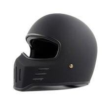 Tt co thompson marca capacete da motocicleta tt01 espírito rider motocross capacetes rosto cheio compacto e leve capacete moto do vintage