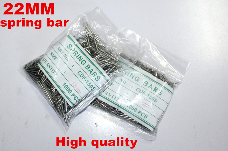 Wholesale 1000PCS bag High quality watch repair tools kits 22MM spring bar watch repair parts 041413