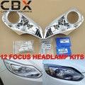Farol dianteiro Kit Ajuda para Ford Focus Carro Atualizado sem Danos e instalar HID Lente Do Projetor Koito Q5 Hella