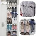 High Quality 22 Pockets Clear Over Door Hanging Baseroom Living Room Storage Bag Shoe Rack Hanger Storage Tidy Organizer
