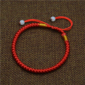Mdiger Classic Red String Rope Bracelet Lucky Red Chinese Braided Beads Bracelets Gift Fashion Black Waistband Bracelets Men