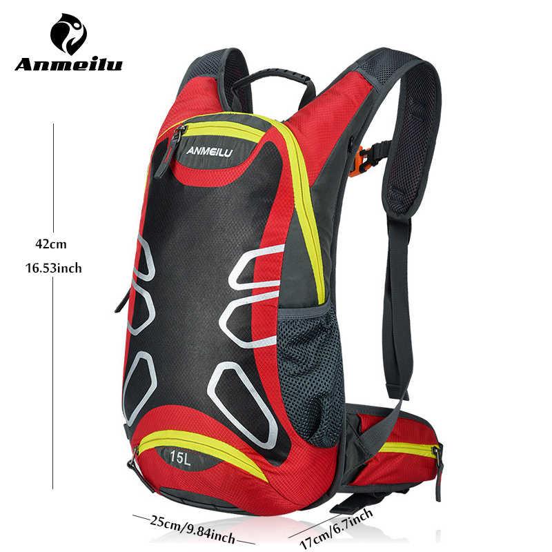 Велосипедная плечевая сумка рюкзак сверхлегкий спортивный для верховой езды MTB гидратационный рюкзак 15л велосипедный рюкзак для велосипедиста, без сумки для воды