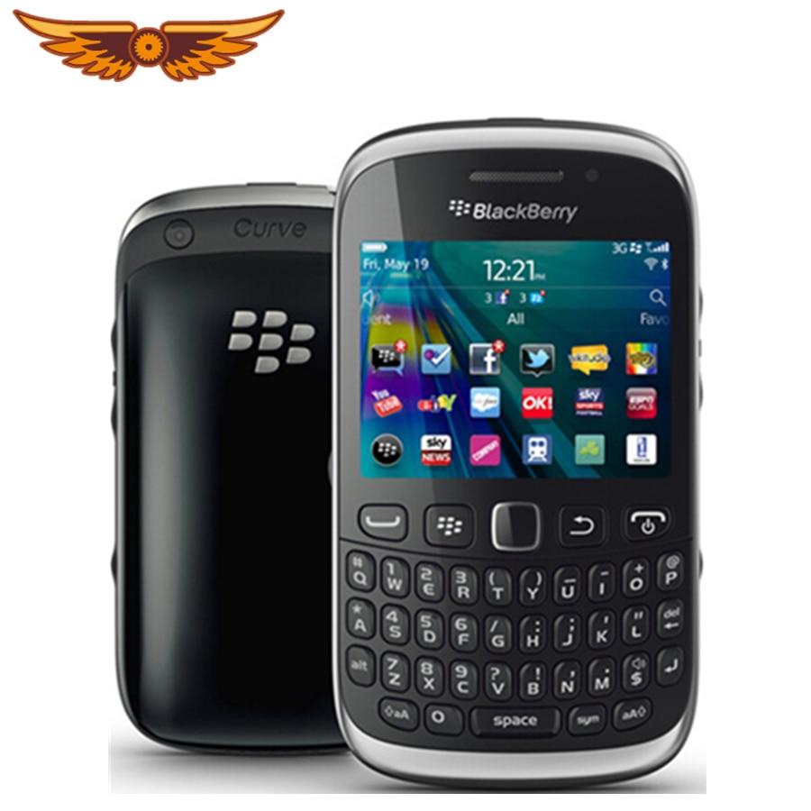 9320 Original Unlocked Blackberry Curve 9320 WCDMA 3MP 512MB ROM 1150mAh  GPS WIFI Refurbished Cell Phone