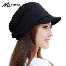MAOCWEE, зимние женские шапки для мальчиков и девочек, повседневная шапка в стиле хип-хоп, вязаная теплая Женская шапка Skullies Beanie, модная мягкая шапка