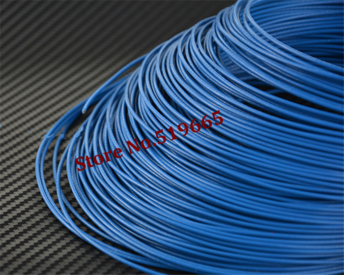 High Quality 18AWG Teflon silver wire 1m2 Silver plated copper wire ...