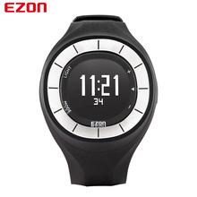 EZON Brand Men Women Fitness Pedometer Watch Running Calorie Counter Waterproof Sport Digital Watch Relogio Masculino T028