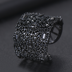 Image 4 - GODKI Luxury Cubic Zirconia Wedding Rings for Women Bridal Engagement Wedding Jewelry CZ Femmale Accessories Whole Finger Rings