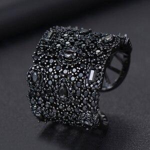 Image 4 - GODKI יוקרה מעוקב Zirconia טבעות נישואים לנשים כלה אירוסין חתונת תכשיטי CZ Femmale אביזרי כל אצבע טבעות