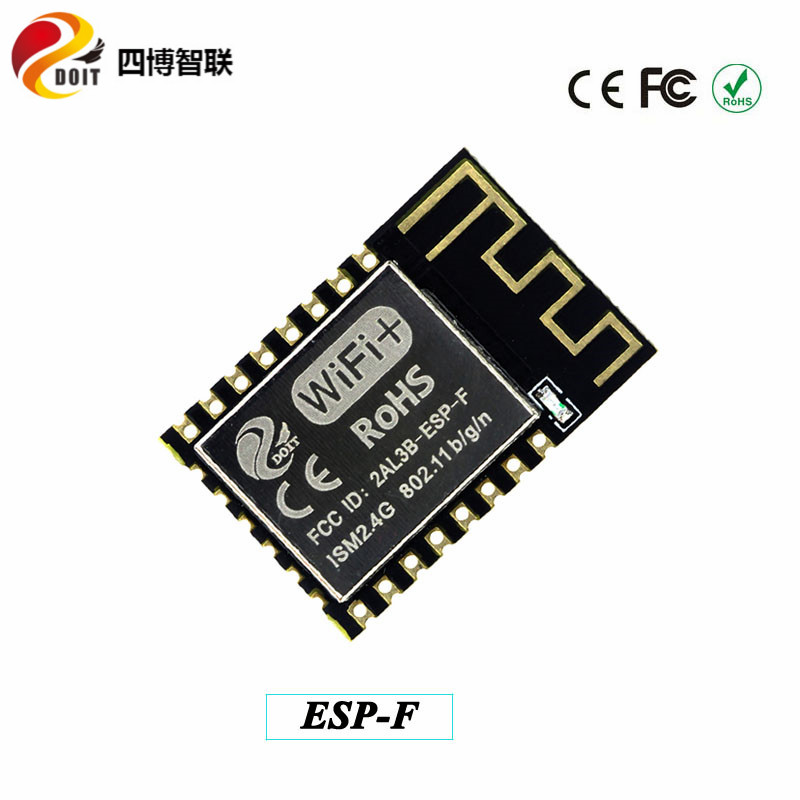 DOIT 10pcs/pack ESP-F Serial Wireless WiFi Transmission Module Fully Compatible with ESP8266