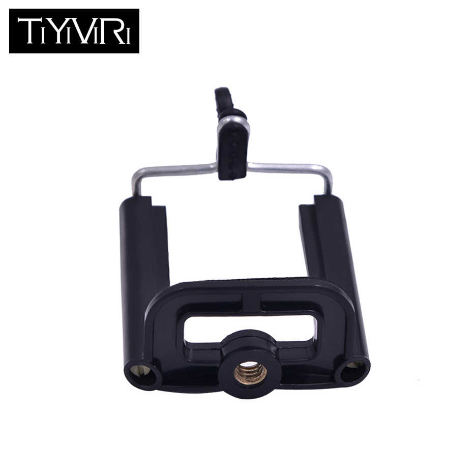 Universal Mobile Phone Clip Aluminum Cell Phone Holder mount bracket Adapter Clip For Camera Tripod for iPhone Samsung HTC mi