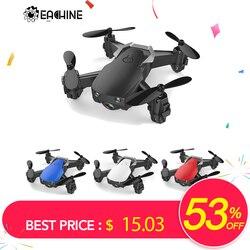 Eachine E61/E61hw Mini Drone Con/Senza HD Della Macchina Fotografica Hight Tenere Modalità RC Quadcopter RTF WiFi FPV Pieghevole elicottero VS S9HW T10