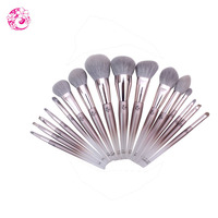ENERGY Brand Professional 16pcs Makeup Goat Hair Brush Set Make Up Brushes +Bag Brochas Maquillaje Pinceaux Maquillage tm0
