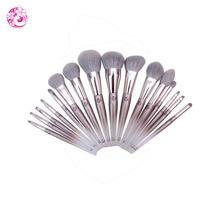 ENERGY Brand Professional 16pcs Makeup Goat Hair Brush Set Make Up Brushes +Bag Brochas Maquillaje Pinceaux Maquillage tm0