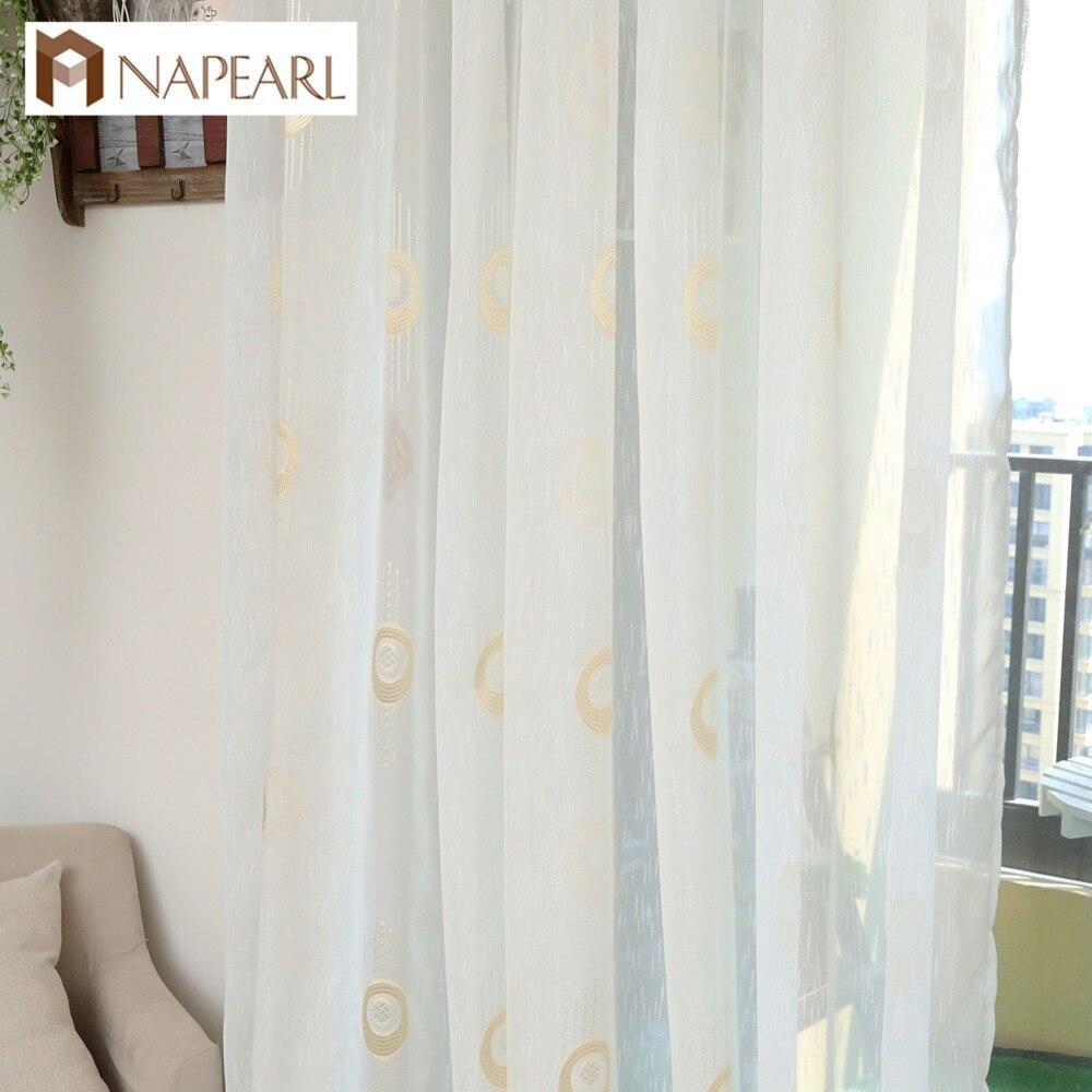 US $5.04 55% di SCONTO|NAPEARL Moderna tenda cucina tenda ready made tende  della finestra di colore del bronzo elegante salotto di casa tende-in Tende  ...
