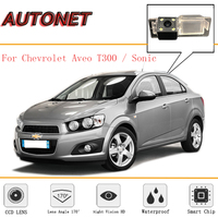 AUTONET Rear View camera For Chevrolet Aveo T300 / Sonic MK2/CCD/Night Vision/Reverse Camera/Backup Camera/license plate camera