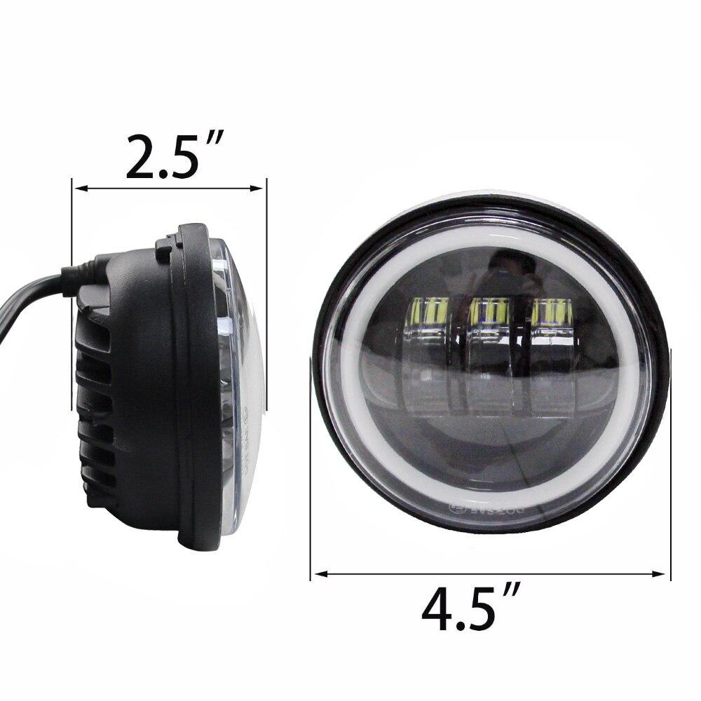 4 1 2 4 5 LED Fog font b Lamp b font Driving Passing Light for