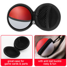 Carrying Case for Poke Ball Plus Controller Protective Hard Portable Travel Pokeball Case Bag for Nitendo Switch