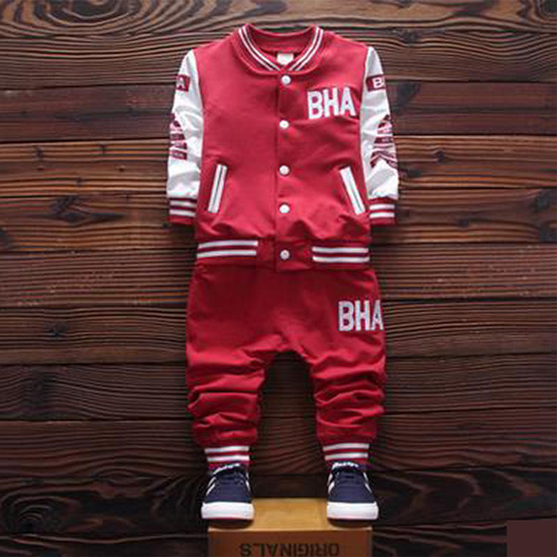 2016 brand new Boys clothing set kids sports suit children tracksuit boys long shirt + pants gogging sweatshirt casual clothes