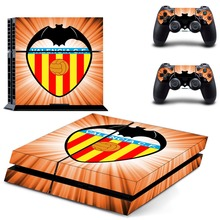 Valencia Los Ches Estadio de Mestalla PS4 Skin Sticker Decal Vinyl For Sony PS4 PlayStation 4 Console and 2 Controllers Sticker