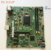 696233-001 For HP Pavilion P6 P7 P6-2131JP Desktop Motherboard 698346-501 H-JOSHUA-H61-uATX:1.00 Mainboard 100%tested(China)
