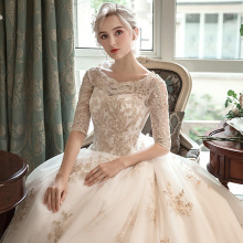 TOSJC 2019 department bridal gowns contracted wedding dress