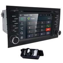 Quad Core 2din Android 7.1 car Dvd player for Audi A4 (8E/8H) 2000-2012 S4 RS4 B6 B7 Seat Exeoradio GPS NagationWIFI BT SWC DAB+