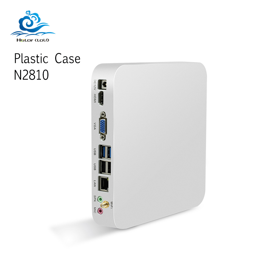 Pocket Mini Computer Celeron N2830 DDR3L Windows 7/8/10 Linux Mini PC Office Comput Plastic Case Mini Tv Nettop Wifi