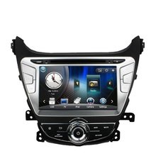 Free Shipping Car DVD Player GPS Navigation For Hyundai Elantra Avante 2014 with TV Ipod RDS Radio Steering wheel Control