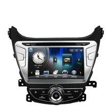 Free Shipping Car DVD Player GPS Navigation For Hyundai Elantra Avante 2014 with TV Ipod RDS Radio Steering wheel Control
