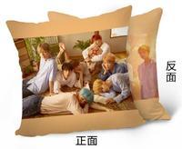 Kpop Home BTS Bangtan Boys Love Yourself JIN SUGA RAPMONSTER The Same Sofa Soft Bolster Car