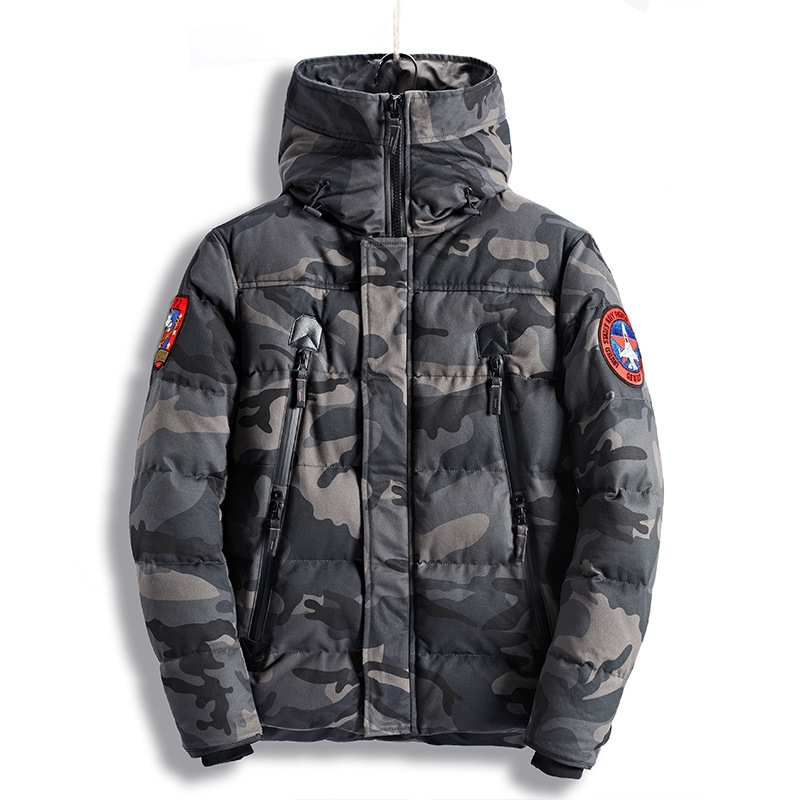 Winter Thicken Warm Camouflage Hooded Tactical Coat Cotton Parkas Outdoor Hunting Riding Hiking Thermal Loose Windbreaker Jacket camkemsey warm corduroy winter coat women fur collar hooded jacket women casual pockets thicken cotton padded parkas overcoat