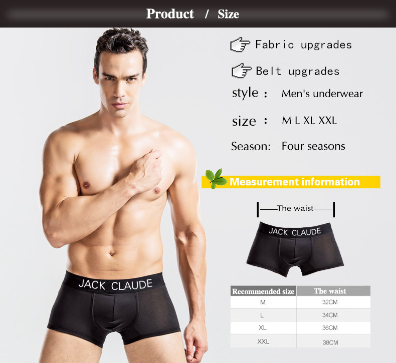 1a36717378d0 Mens Underwear Boxers Calzoncillos Hombre Boxer Marca Homme Male ...