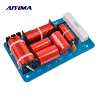 AIYIMA Speakers Frequency Divider Tweeter Midrange Subwoofer 600W 3 Way Crossover Audio HiFi Filters DIY For Home Theater