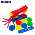 1pcs Learning Education Plasticine Dough Craft Tool Clay Extrusion Plastic Mold Mould Set Kids Play Toy