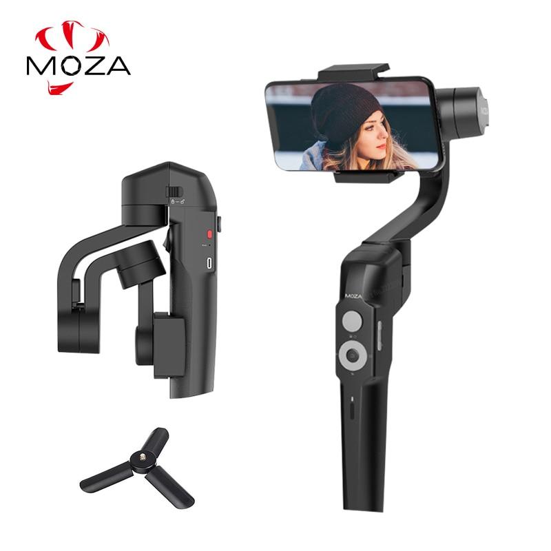 MOZA мини S 3 оси Gimbal стабилизатор Карманный складной для iPhone huawei Gopro действие Камера VS мини Ми zhiyunSmooth 4