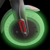XIAOMI M365 Scooter Tire Fluorescent Tire Tubeless Tyre Shock Absorption Solid Tyre Inflation Free for Xiaomi Electric Scooter