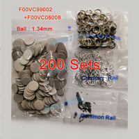 ERIKC Wholesale Price Injector Repair Kits Gasket F00vc99002 Valve Ceramic Ball 1.34mm F00vc05008 for Bosch Common Rail Injector