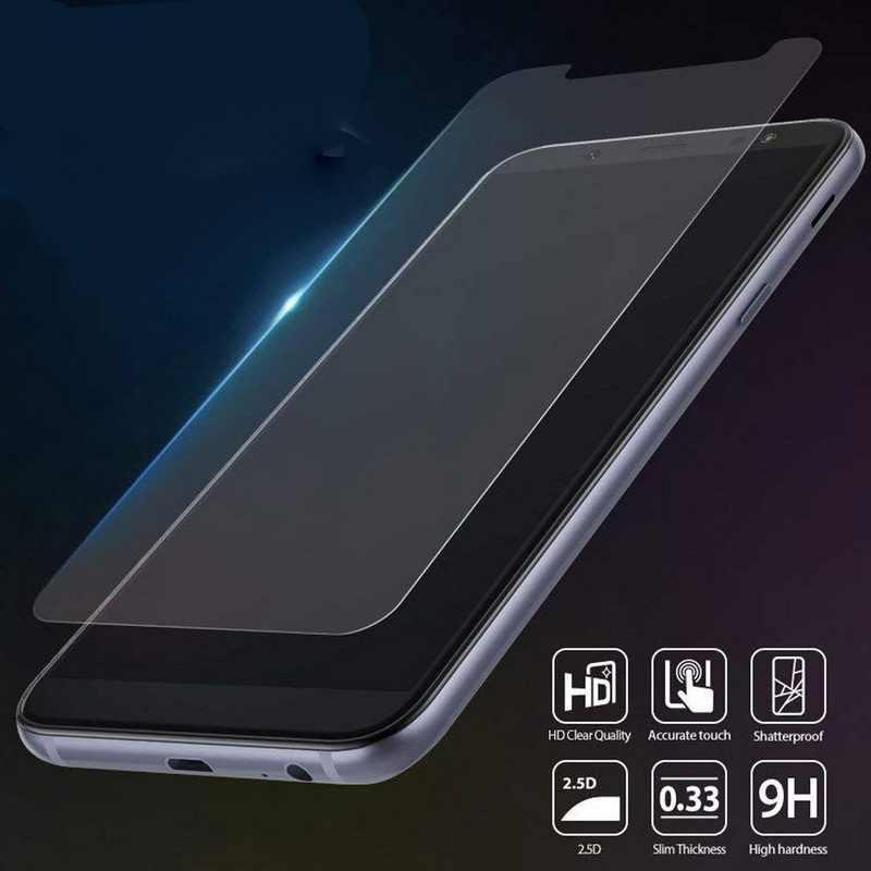واقي للشاشة فيلم الزجاج المقسى حقيبة لهاتف سامسونج A7 A9 A6 A8 زائد 2018 A3 A5 S4 S5 S6 S7 ملاحظة 3 4 g530 G360 على 5 7 C7 C8
