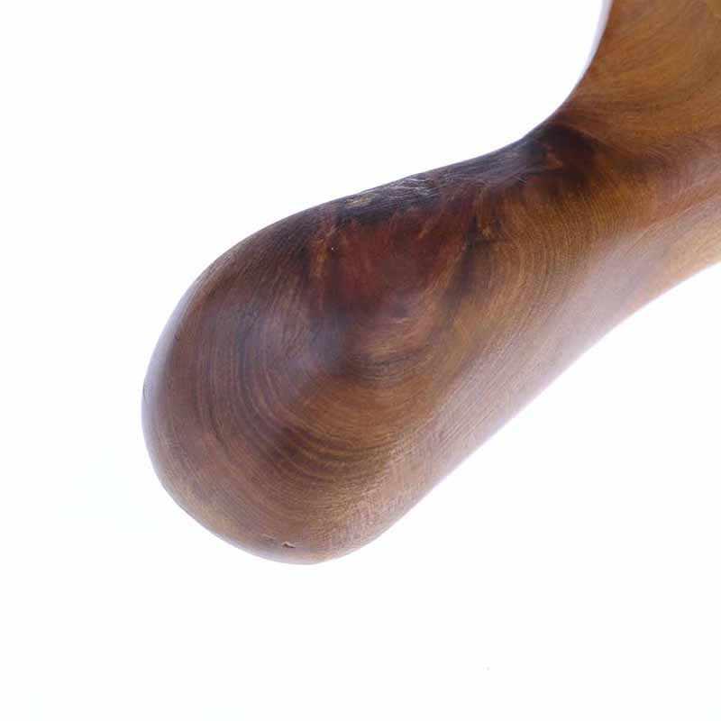 1 個ボディツボマッサージローラー香木顔鼻瓜沙ツールスパマッサージ健康スティックツール