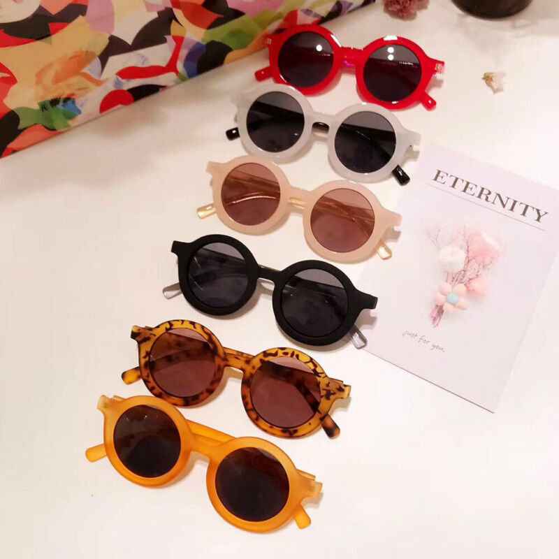 ANTI-UV Kids Sunglasses Kids Goggles Boy Unisex Children Glasses Protection Child Boys Girls Shades Baby Outdoor