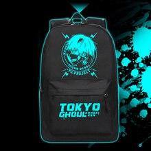 Hight Qualität Cartoon Tokyo Ghoul Rucksack Ken Kaneki Leucht Schultasche für Jugendliche Reisetaschen Daypack