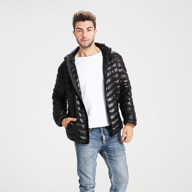 Goose Down Jacket Mens Jaquetas E Casacos Jaqueta de Inverno Maxi homens Casaco Plus Size Parka Abrigos Hombres Invierno Manteau Homme #097