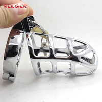 New nam khiết tịnh lồng kim loại Vòng Cock, stainless steel chastity cage, lồng cock chastity devices cho nam